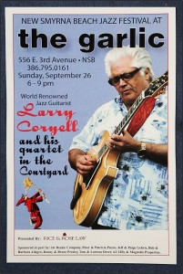 Larry Coryell Special Edition Poster $ 7