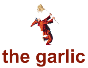 The garlic logo