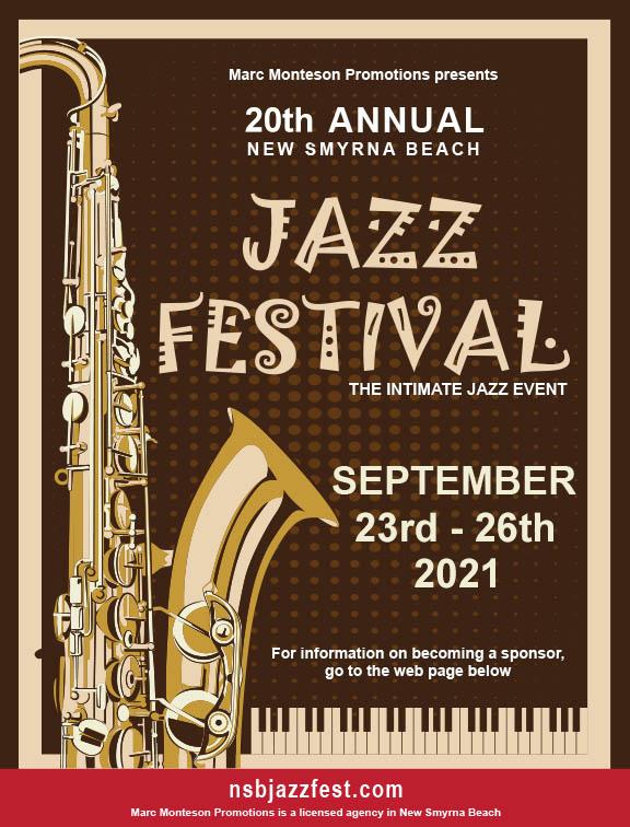 Nsb Jazz Fest 18th Annual New Smyrna Beach Jazz Fest